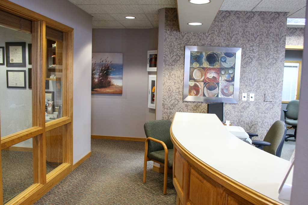 Backoffice at Wanserski Dental Center for Complex Dentistry