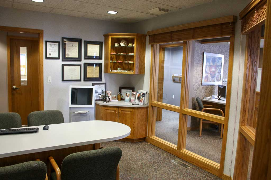 Dr. Wanserski's office at Wanserski Dental Center for Complex Dentistry